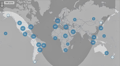 OneMillionTweetMap: geolocalización del volumen de tuits