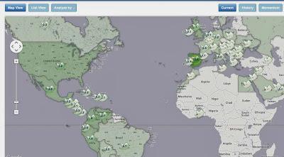 Tweepsmpa: Geolocalización de seguidores Twitter