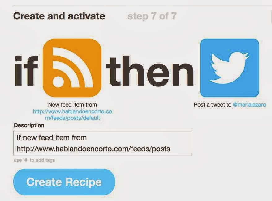 Automatizar actualizaciones en redes sociales con IFTTT