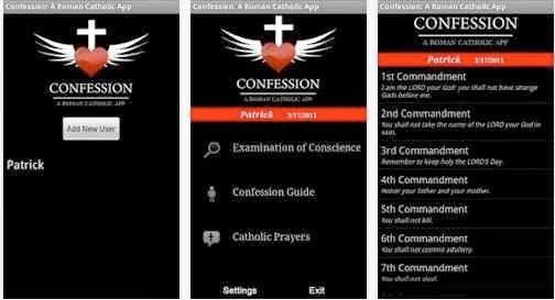 App Semana Santa 2014: Confesión