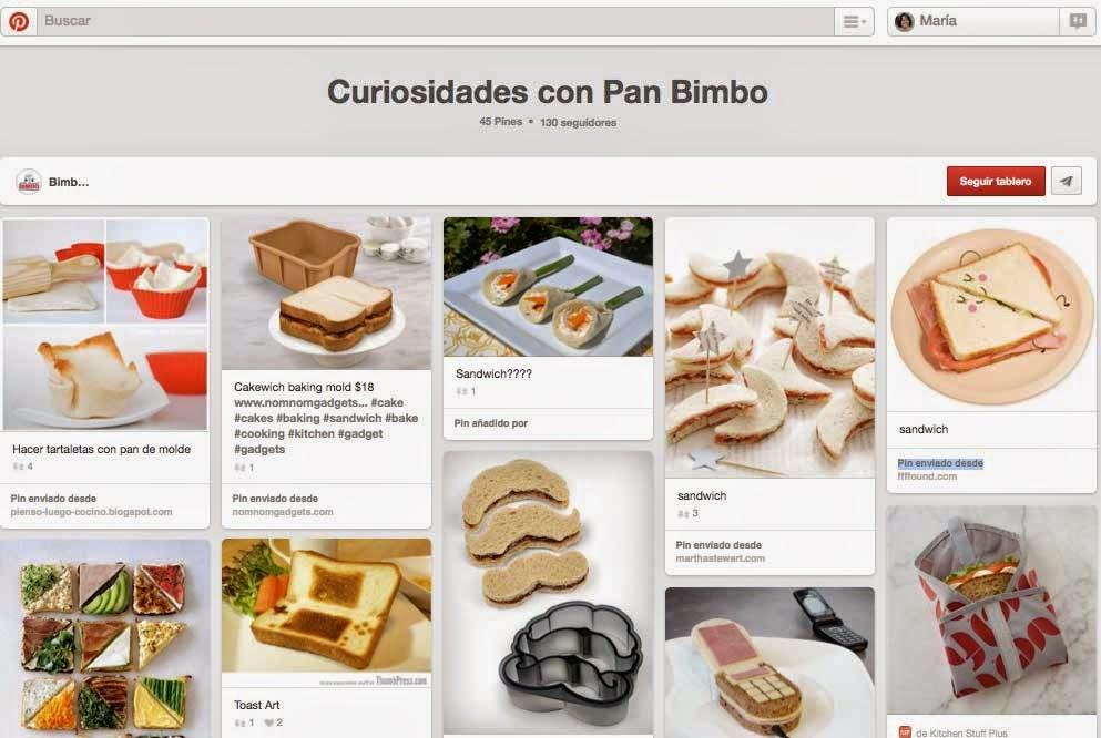 78350ed24 7 Usos creativos de Pinterest entre empresas españolas - Hablando en ...