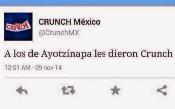 Crunch Mexico Twitter