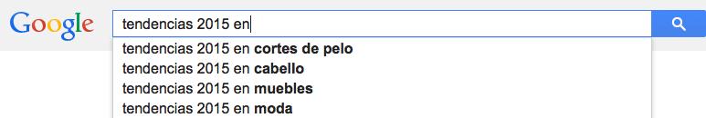 tendencias 2015 google