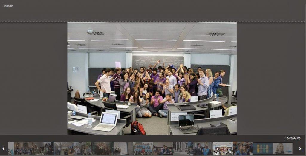 Página de Universidad de Esade
