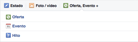 Facebook crear oferta