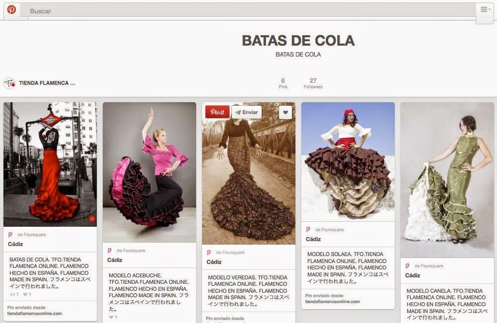 Pinterest Places Tienda Flamenca Online