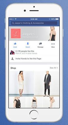 Facebook Botón comprar