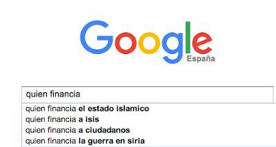 Quién financia en google