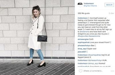 Wearisma en instagram