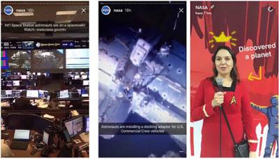NASA en Snapchat