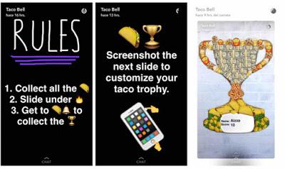 Taco Bell en Snapchat