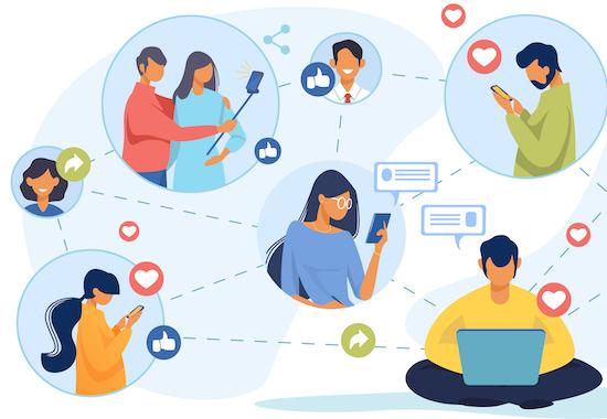 redes sociales 2021